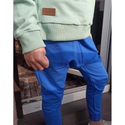 bluzka z szelkami w kratę